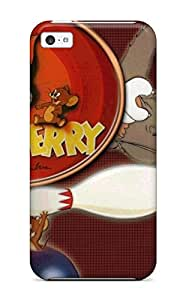 New Cute Funny Tom And Jerry Tom And Jerry Case Cover/ Iphone 5c Case Cover