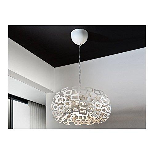 Schuller Spain 485937I4L Modern white Hanging Ceiling Light Pendant 1 Light Dining Room, Living Room LED | ideas4lighting by Schuller