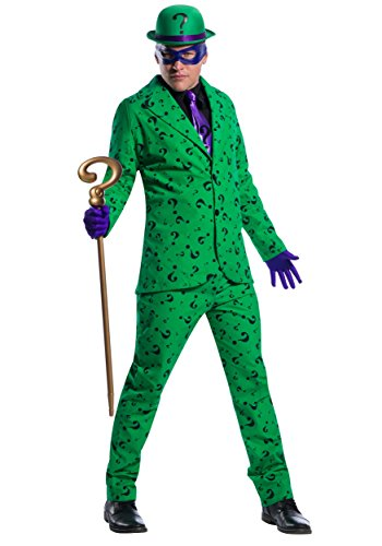 The Riddler Adult Mens Costumes (Men's Riddler Costume Medium)
