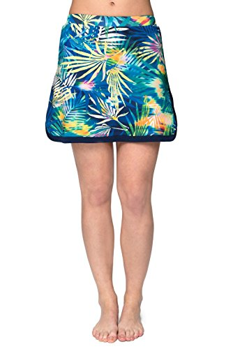 05211903d565f HydroChic Women's Plus Size Swim Skort – Modest Skirtini, Swimsuit Shorts Skirt  Bikini Bottom