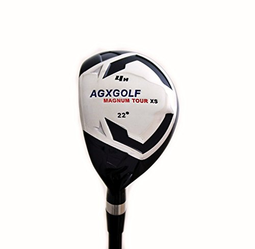 AGXGOLF Ladies Magnum #4 Hybrid Utility Iron w/Graphite Shaft Right Hand; Petite, Regular or Tall Length ! Built in the USA!