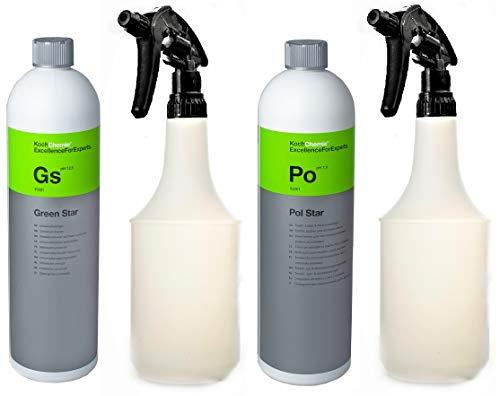 Koch Química Green Star y Pol Star Piel y textilrei Níger ...