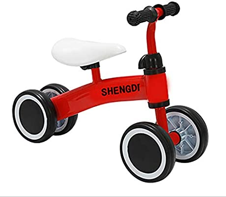 K-G Bicicleta Infantil Bicicletas de Balance de Bicicletas niños Walker Durante 10-24 Meses, Paseo en los Juguetes for 1 año de Edad Niño Niña, Niño Top Primer Regalo de cumpleaños: Amazon.es: Deportes