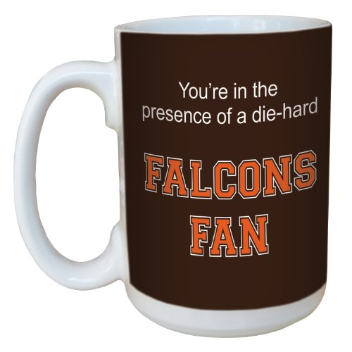 Falcons Basketball (Tree-Free Greetings lm44645 Falcons College Basketball Ceramic Mug with Full-Sized Handle, 15-Ounce)