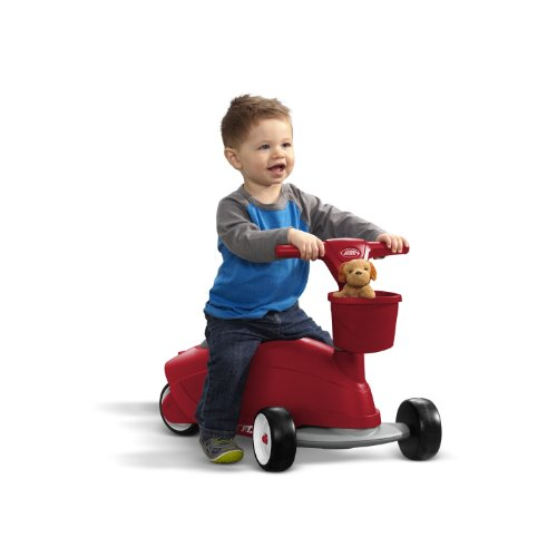 042385110387 - Radio Flyer Ride 2 Glide Ride On carousel main 1
