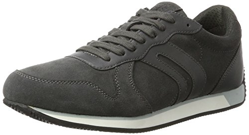 Geox U Vinto C, Sneakers Basses Homme, Anthrazit Gris (Anthracite)