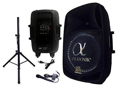 MONSTER MOUNTS / PROMOUNTS ALF2800 2800 Watt Amplified Speaker with Stand and Mic by MONSTER MOUNTS / PROMOUNTS (Image #6)
