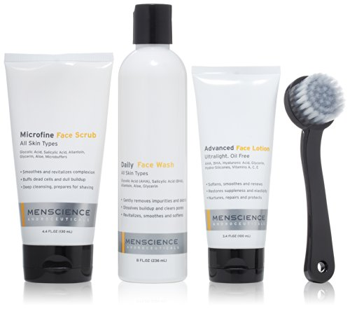 MenScience Androceuticals Daily Face Kit