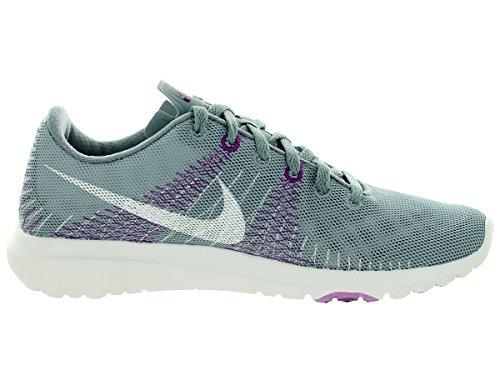 Nike Femmes Flex Fury Chaussures De Course Colombe Gris / Fuchsia Lueur / Bold Berry / Blanc