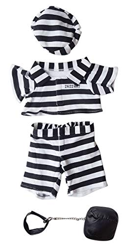 Prison Outfit Outfit Teddy Bear Clothes Fit 14