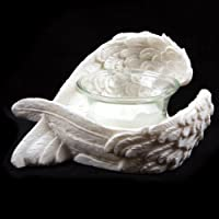 (Wings Candle Holders) - Pair Angel Wings Candle