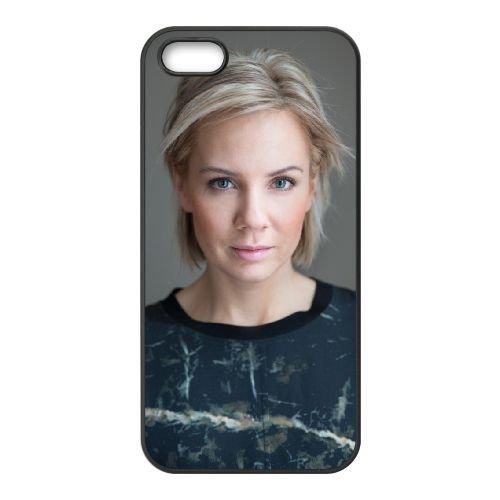 Ina Wroldsen 002 coque iPhone 5 5S cellulaire cas coque de téléphone cas téléphone cellulaire noir couvercle EOKXLLNCD24542