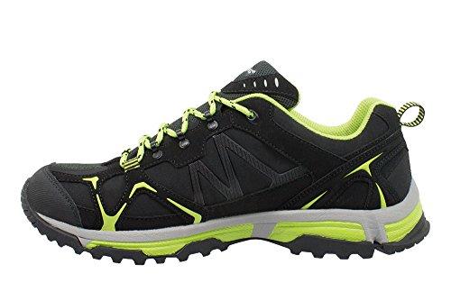 Kefas - Botas de senderismo para hombre negro Size: 42