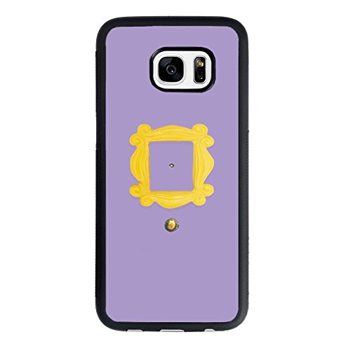 Price comparison product image Friends Tv Show Samsung Galaxy S7 Case, Monica's Peephole Door Friends Tv Show Case for Samsung Galaxy S7 TPU Case