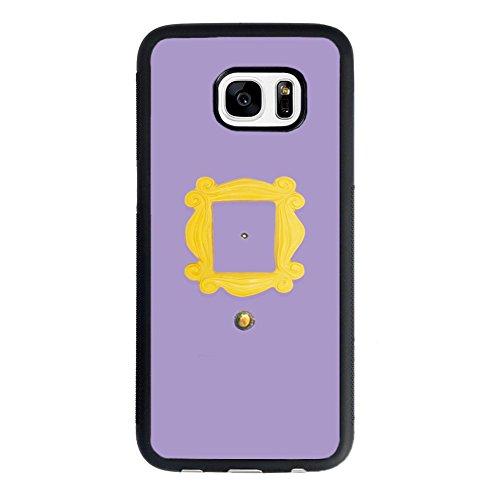 Price comparison product image Friends Tv Show Samsung Galaxy S7 Case,Monica's Peephole Door Friends Tv Show Case for Samsung Galaxy S7 TPU Case