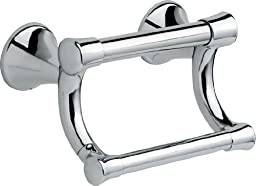 Delta Faucet 41450 Transitional Pivoting Tissue Holder / Assist Bar, Polished Chrome