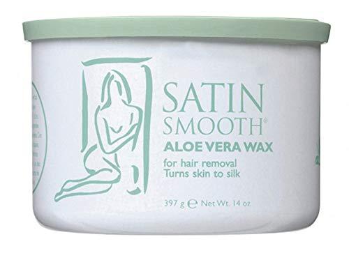 Satin Smooth Aloe Vera Wax 14 oz. (CON141) ()