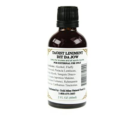 Taoist Liniment DIT DA JOW - Secret Herbal Remedy for Pain Relief on Sore  Muscles and