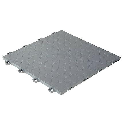 Modutile Garage Floor Tiles 30 Pack Coin Gray