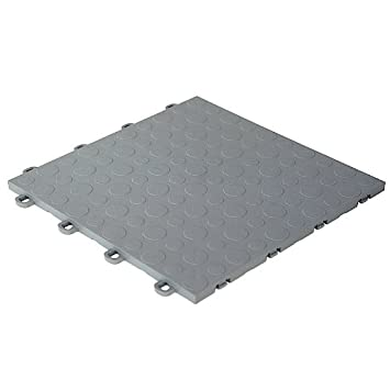 modutile garage floor tiles 30 pack coin gray