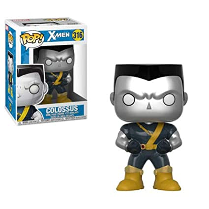 Funko Pop!- Pop Marvel: X-Men-Colossus Figura de Vinilo, (30863)