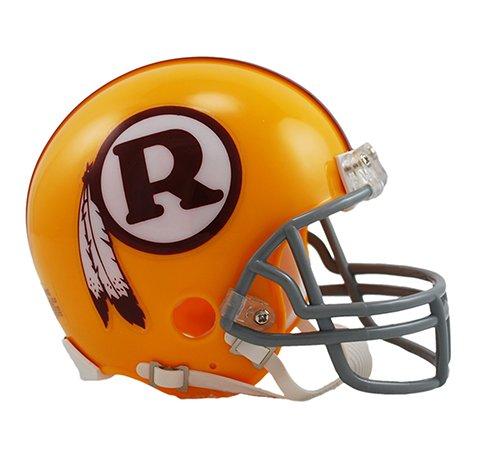 Washington Redskins 1970-71 Throwback NFL Riddell Replica Mini - Washington Redskins Helmet Replica