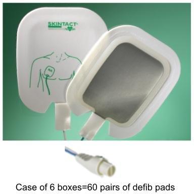 Defib Pads (SKINTACT DF26C Defib Pads for Philips (HP) Codemaster-Defibrillator Pads)