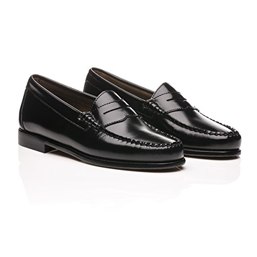 Bass 6h Penny Leather G Black Loafers Weejuns h TvW8aqF