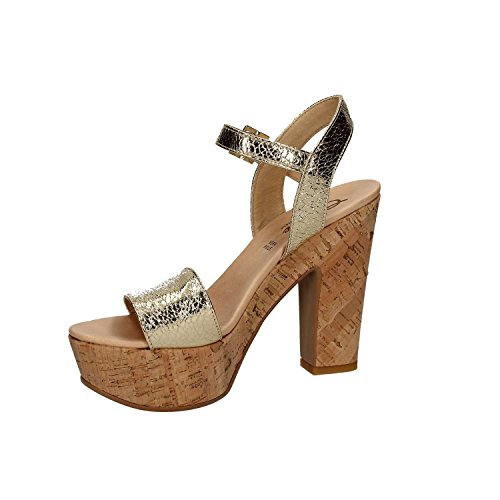 femme pour doré T 05 talon Shoes Grace Sandale à R6ZRq