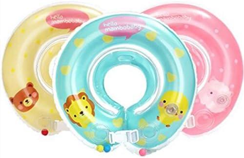 Goldbeing Flotador inflable para el cuello, en diseños de diferentes colores, para niños pequeños rosa rosa: Amazon.es: Bebé