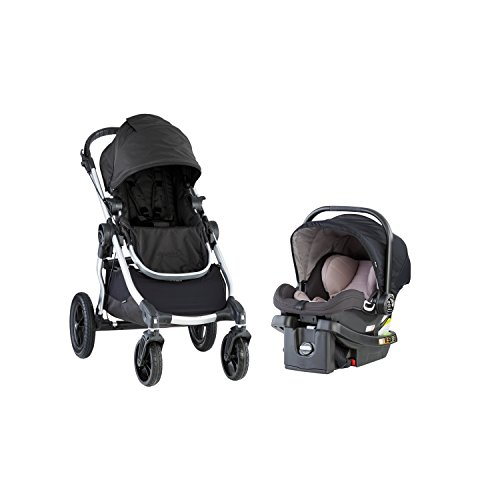 Jogger Stroller Baby Triple - Baby Jogger City Select Travel System, Onyx