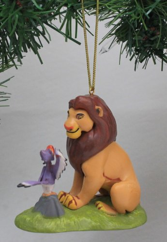 Disney's The Lion King 'Mufasa with Zazu' Holiday Ornament - Limited Availability (Zazu Lion King)