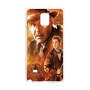 Indiana Jones Samsung Galaxy Note 4 Cell Phone Case White