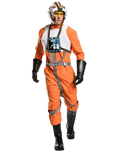 Star Wars Men's Classic Grand Heritage X-Wing Fighter Costume, Multi, Standard]()