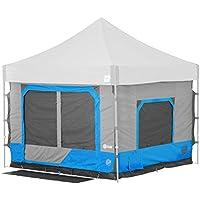 E-Z UP CC10SLSP Cube 6.4 Outdoor Camping Tent, Splash
