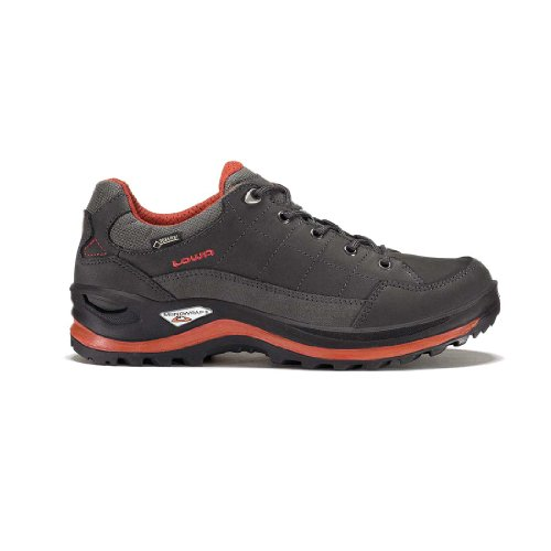 Lowa M Renegade III Gtx® LO - Grey / Rust - UK 6.5 / EU 40 / US 7.5 - Mens waterproof multifunctional boot ivY8i
