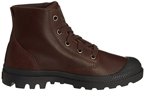 Black Boots Women's Ankle Palladium Carafe Pampa Hi Leather Brown ZqAXXB8wx