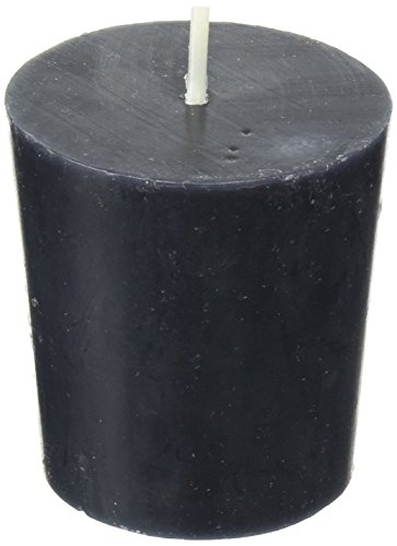 Zest Candle 12-Piece Votive Candles, Black by Zest Candle