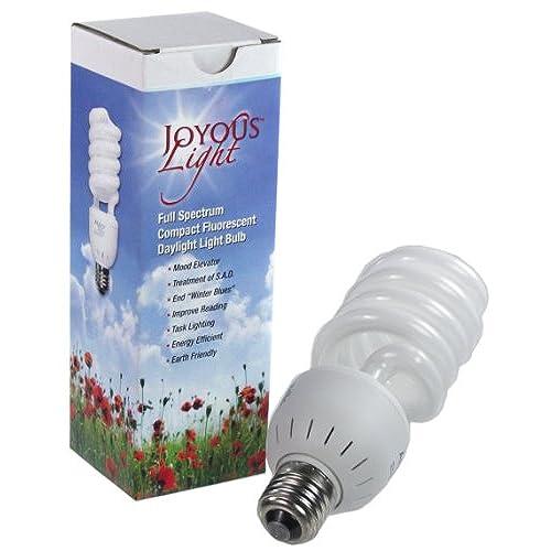 ALZO 27W Joyous Light Full Spectrum CFL Light Bulb 5500K