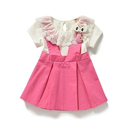 Ragazze vestito estivo bambino 0-1 principessa abito abiti per bambini  Bambini 2-3 c244bf1b55a