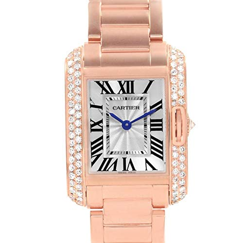 Cartier Tank Anglaise Quartz Female Watch WT100002 (Certified Pre-Owned)