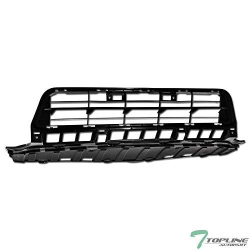Honda Civic Billet Grilles - Topline Autopart Matte Black OE Style Front Lower Bumper Grill Grille ABS For 12-13 Honda Civic 4 Door Sedan