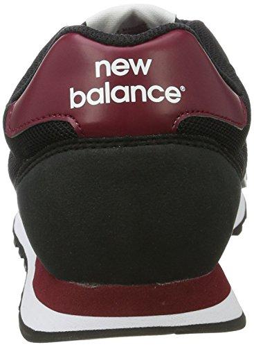 New Balance 500, Zapatillas para Hombre Multicolor (Navy/Red)