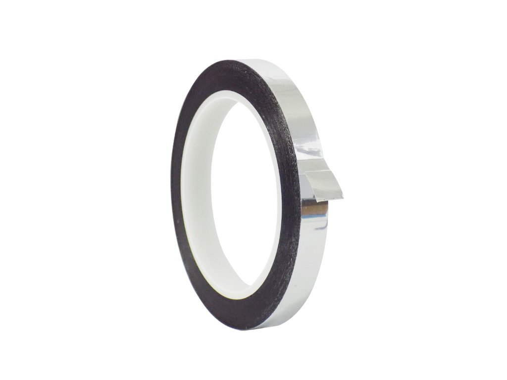 WOD MMYP-1 Silver Metalized Polyester Mylar Film Tape with Acrylic Adhesive (Available in Multiple Colors & Sizes): 1/2 in. x 72 yds. Excellent Chemical and Thermal Stability.