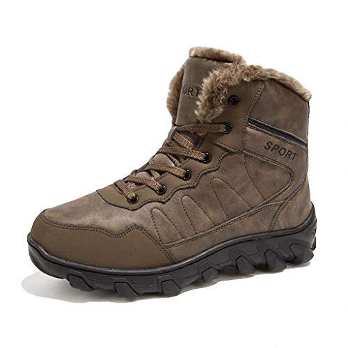 Giles Jones Climbing Boots for Men Winter Snow Antislip Comfortable Hunting Trekking Boots