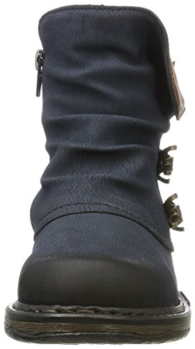 Rieker Women's Z9963 Boots, Blue, 3.5 UK Blue (Pazifik/Brandy 15)