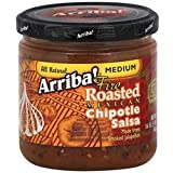 Arriba! Medium Fire Roasted Mexican Chipotle Salsa 18x 16Oz