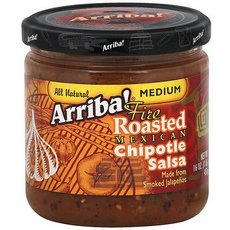 Arriba! Medium Fire Roasted Mexican Chipotle Salsa 18x 16Oz by Arriba!