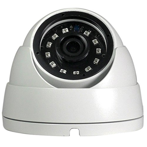 OEM Universal HD CVI TVI AHD Analog 4 in 1 2.8mm Wide Angled 2.8mm Weatherproof Indoor Outdoor Dome Security Camera with IR Nightvision For Sale