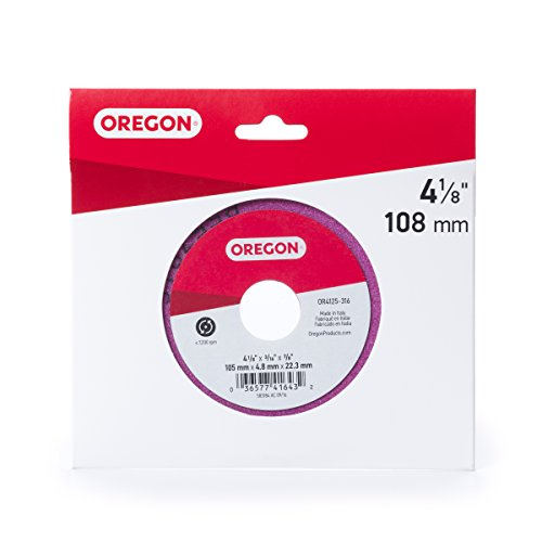 Oregon OR4125-316A Grinding Wheel, 4 1/8' x 3/16'